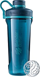 BlenderBottleRadian Tritan Shaker Bottle, Deep Sea Green, 32-Ounce