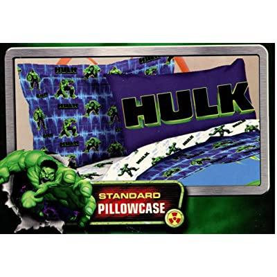 Marvel Avengers Pillowcase - The Incredible Hulk: Home & Kitchen