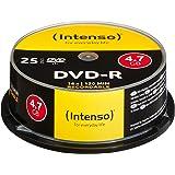 Intenso 4101154 DVD-R 16 x 25 pack kakebox