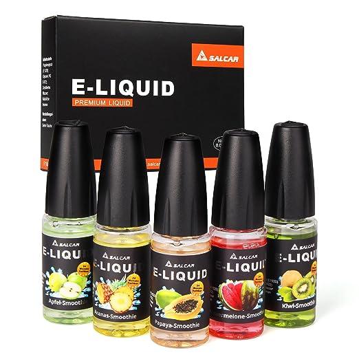 83 opinioni per Salcar liquido, una confezione (5 flaconi da 10 ml) per sigarette