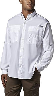 Columbia Mens PFG Tamiami II Long Sleeve Fishing Shirt