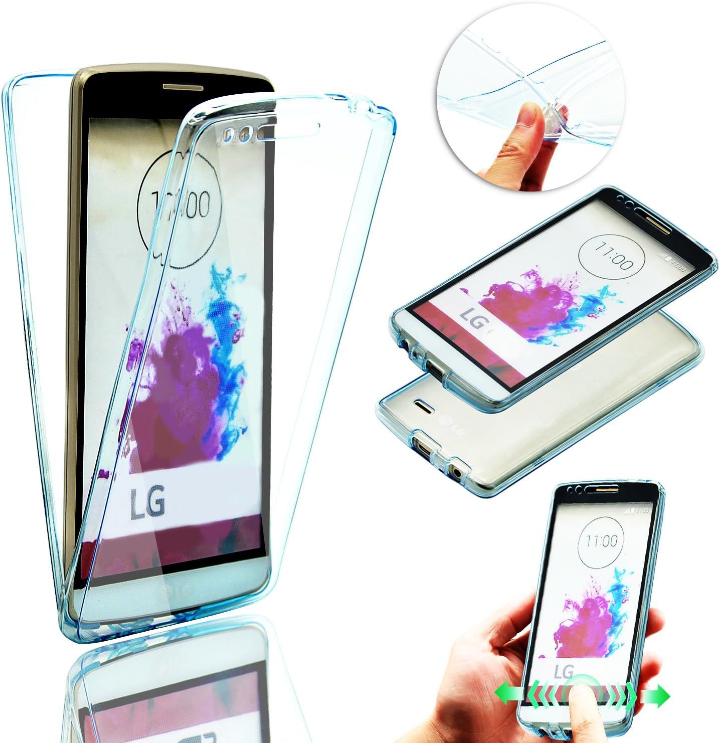 para LG G4 Funda de Silicona Delantera + Trasera Doble 100 ...