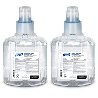 Amazon Com Purell Ltx 12 Advanced Green Certified Hand Sanitizer