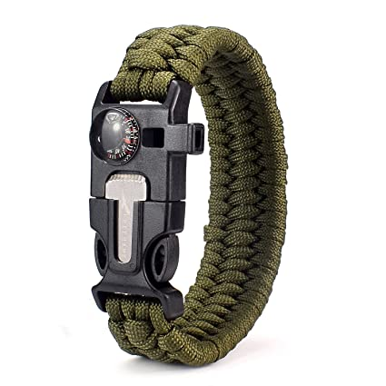 Amazon Com Freehawk Tactical Outdoor Survival Paracord Bracelet