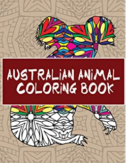 Australian Animal Coloring Book 30 Beautiful Pages To Color