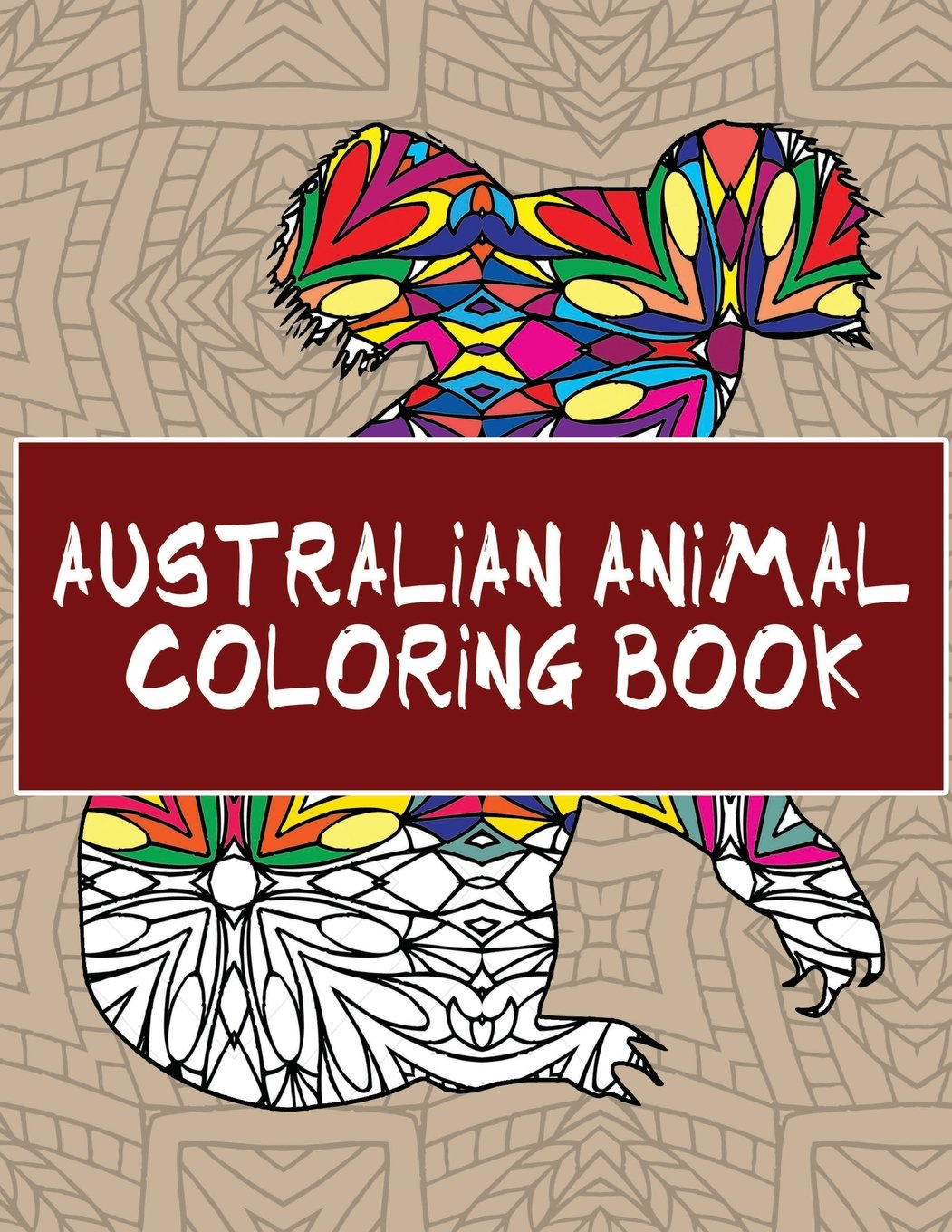 Amazon Australian Animal Coloring Book 30 Beautiful