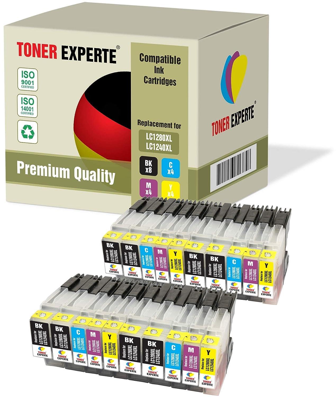 LC1280XL LC1240XL TONER EXPERTE® 20 XL Cartuchos de Tinta ...