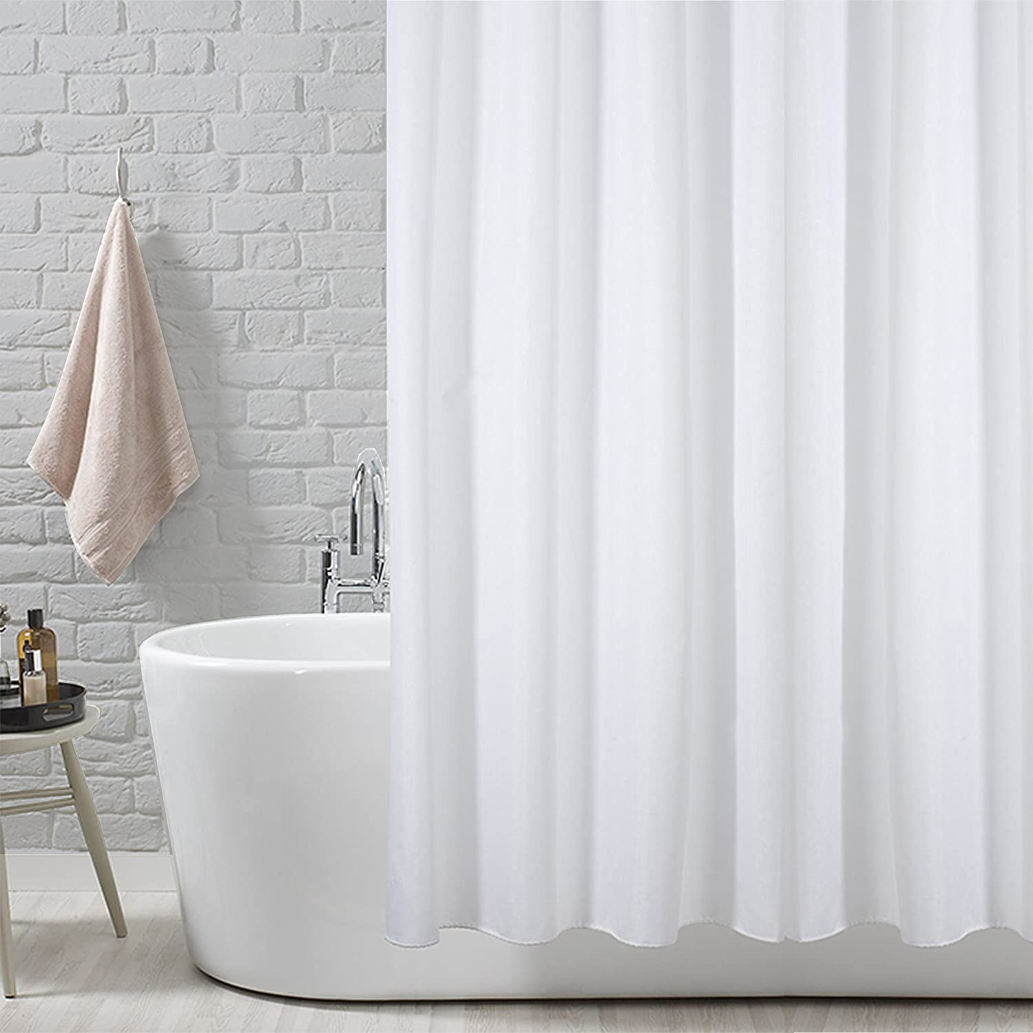curtain shower unique squared luxury white water fabric jacquard antibacteria repellent waffle curtains collections final