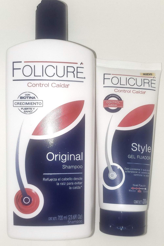 Folicure Hidratante Shampoo 2en1 For Fuller Thicker Hair