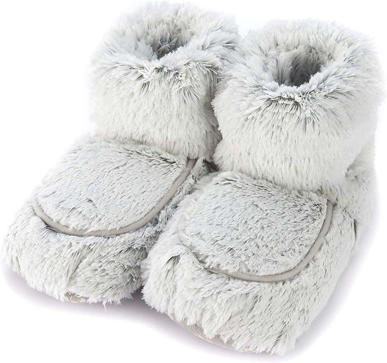 Warmies - Zapatillas para zapatillas (color gris): Amazon.es ...