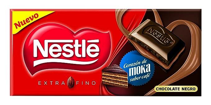 Nestl Extrafino Chocolate negro relleno de crema de leche con cacao sabor a caf - 120