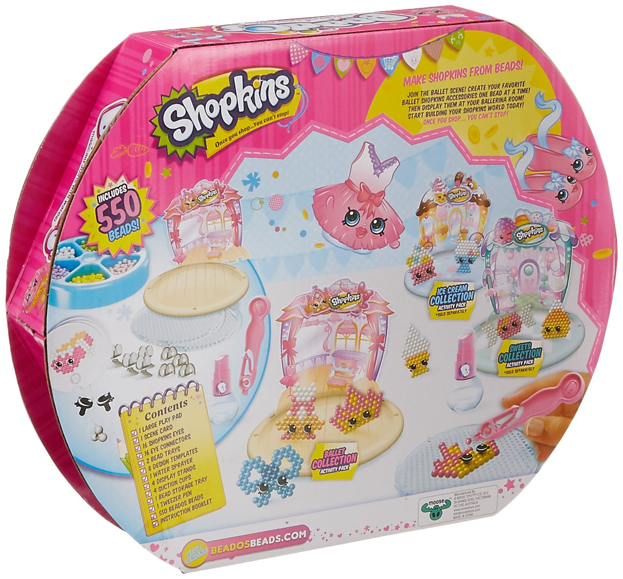 Beados Shopkins Sweets Collection Moose Toys 10748