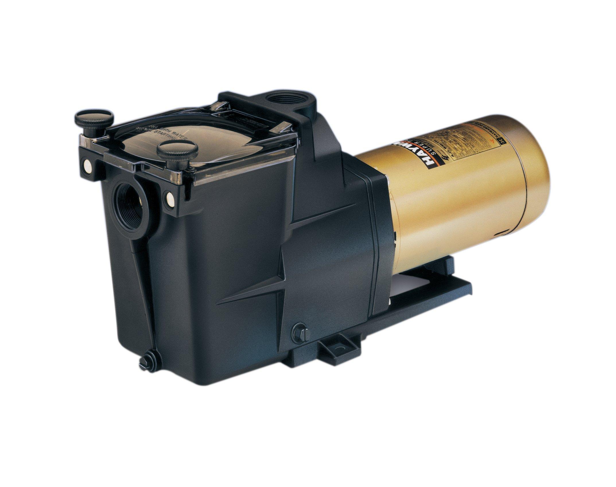 Hayward SP2615X202S Super Pump 2 HP Pool Pump, Dual-Speed, Energy Efficient