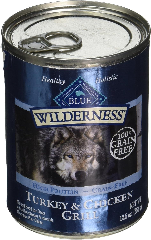Blue Buffalo 596420 Wilderness Canned Dog Food