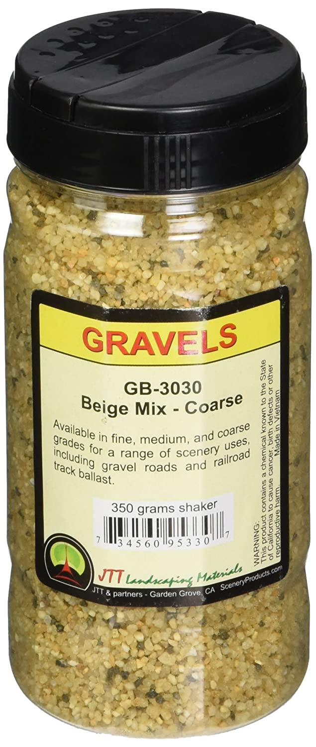 JTT Scenery Products Ballast and Gravel Beige Mix Coarse