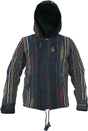 Gheri Hippie - Sudadera con capucha para hombre (algodón natural ...