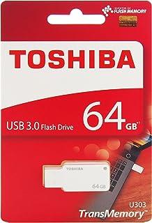 Toshiba Akatsuki 64  GB USB Pendrive  White