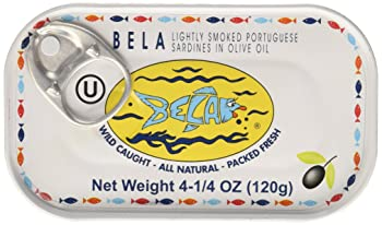 Bela-Olhao Lightly Smoked Sardines in Olive Oil