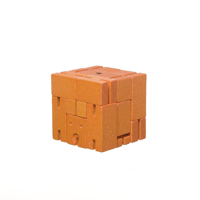 Amazon Micro Cubebot Brain Teaser Puzzle Orange Toys Games