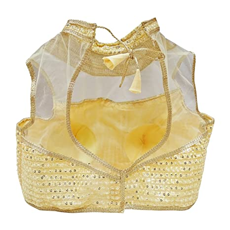 PEEGLI Blusa De Diseñador De Ropa De Boda Blusa De Sari Acolchada Lista para El Cultivo De La Boda: Amazon.es: Ropa y accesorios