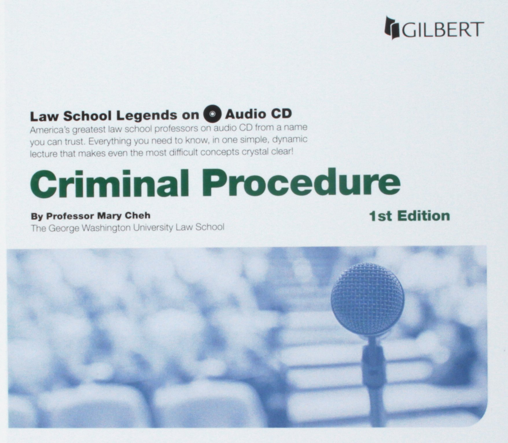 Law School Legends Audio on Criminal Procedure (Law School Legends Audio Series)