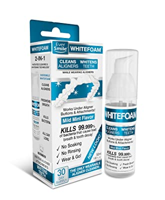 EverSmile WhiteFoam Invisalign Cleaner Review