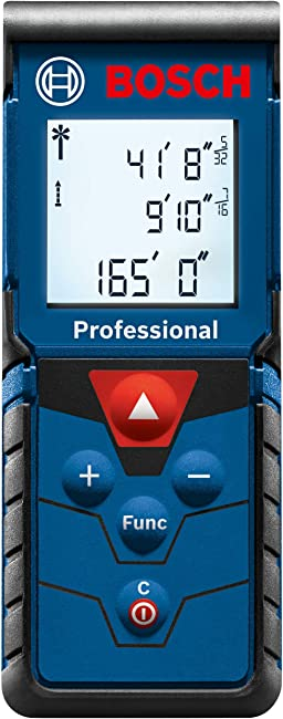 Best Bosch Laser Measure For Homeowners Bosch GLM165-40 Review