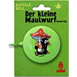 TV - Der Kleine Maulwurf - Pilz Retro Fahrradklingel aus massivem Stahl - grün - LOGOSHIRT