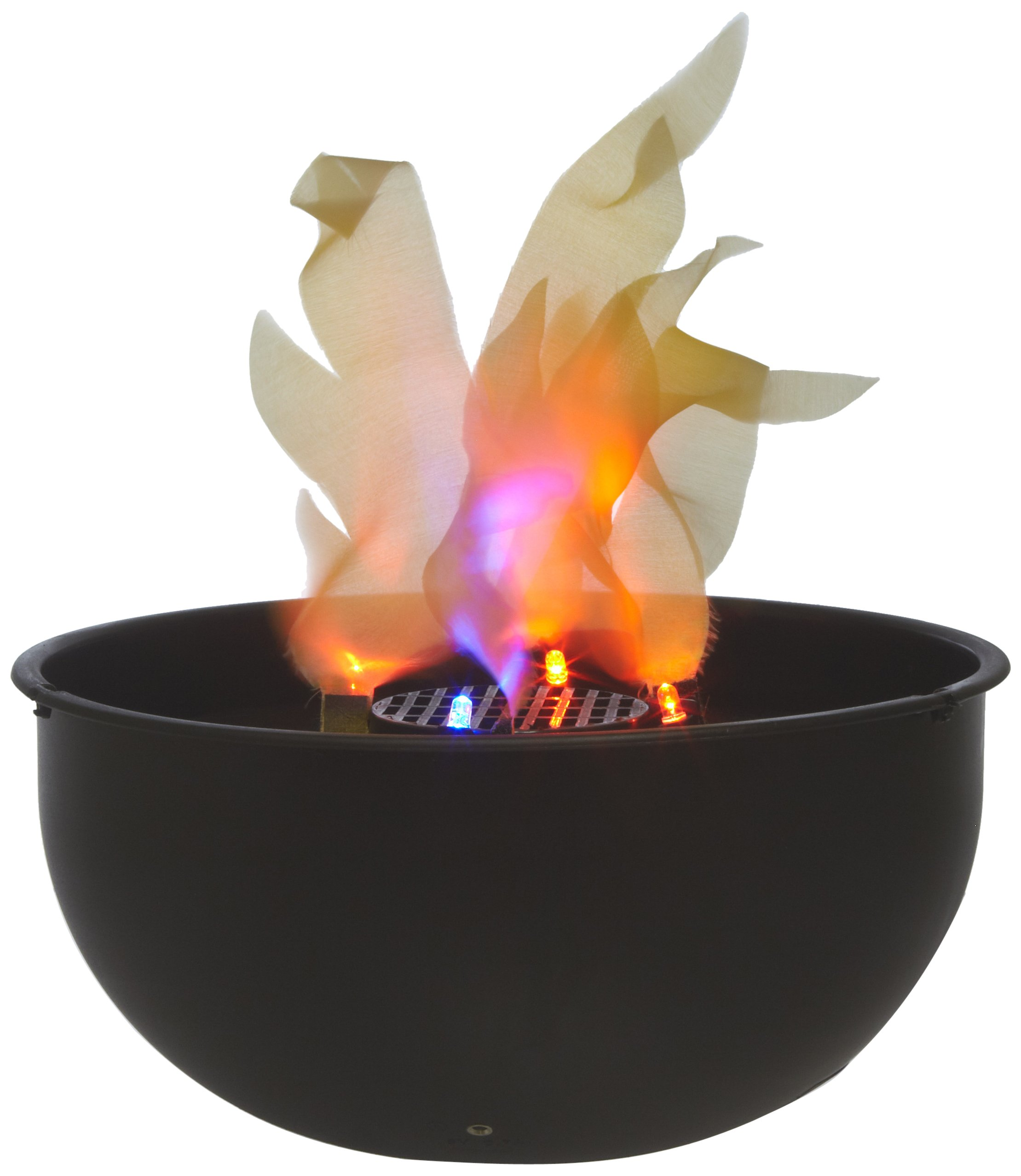 Fortune Products FLM-200 Cauldron Flame Light, 9.75'' Bowl Diameter x 4.5'' Height