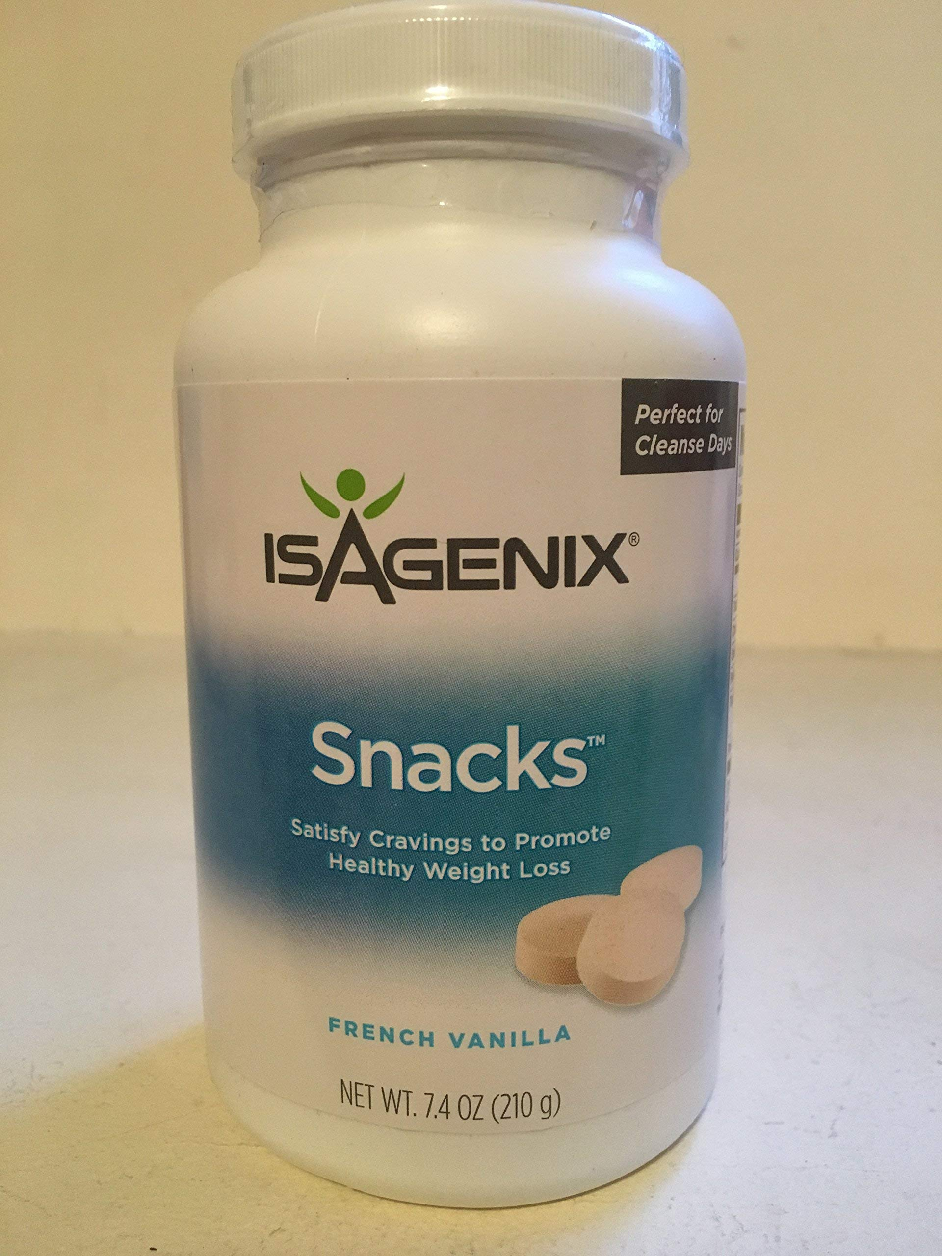 Isagenix Snacks Natural Vanilla 210g 60 Snacks