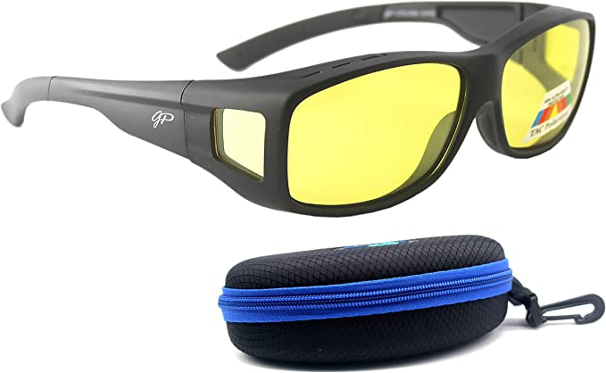 Sunglasses HD Glasses UV400 Polarized Night Vision Driving Mirror Anti Glare