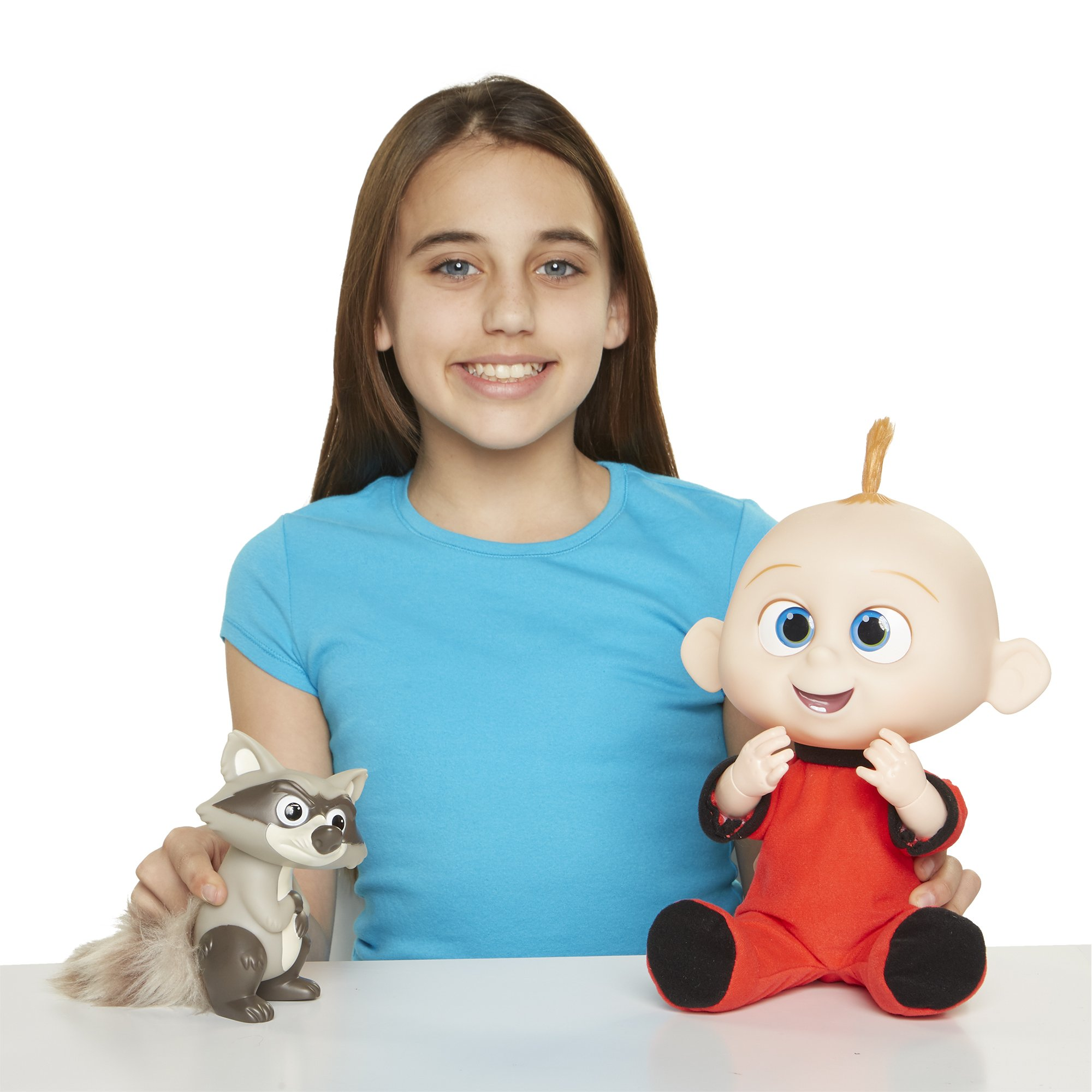 The Incredibles 2 Jack-Jack Plush-Figure Features Lights & Sounds and comes with Raccoon Toy by The Incredibles 2 (Image #11)