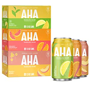 AHA Sparkling Water Aha Sparkling Water Variety Pack, 12 Fl Ounce ()