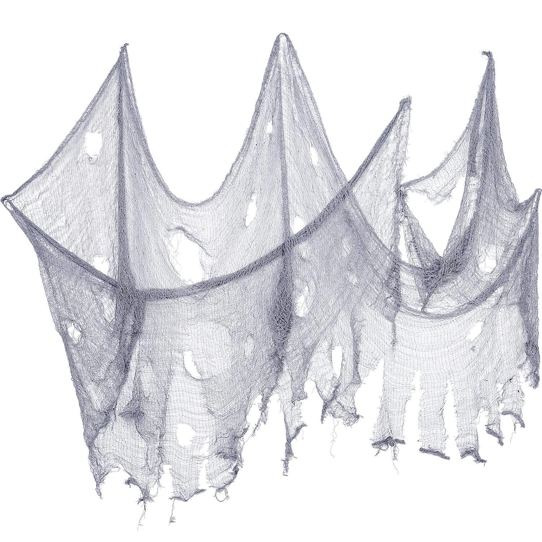 2 Pezzi Panno di Halloween Creepy Dimensioni delle Decorazioni in  Poliestere Panno Spaventoso Spettrale Halloween Articoli f340dac444ba