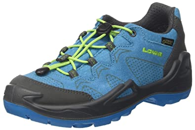 a6e2dc7e4cf543 Lowa Unisex-Kinder Diego GTX Lo Trekking-   Wanderstiefel Blau (Blue Limone