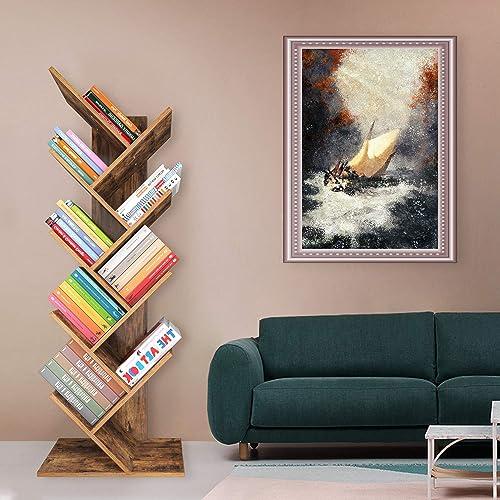 Maxiii 9-Tier Tree Bookshelf