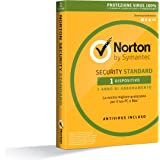 Norton Security Standard Antivirus Software 2018 | 1 Dispositivo (Licenza di 1 anno) | Compatibile con Mac, Windows, iOS e Android