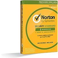 Norton Security Standard Antivirus Software 2019 | 1 Dispositivo (Licenza di 1 anno) | Compatibile con Mac, Windows, iOS e Android