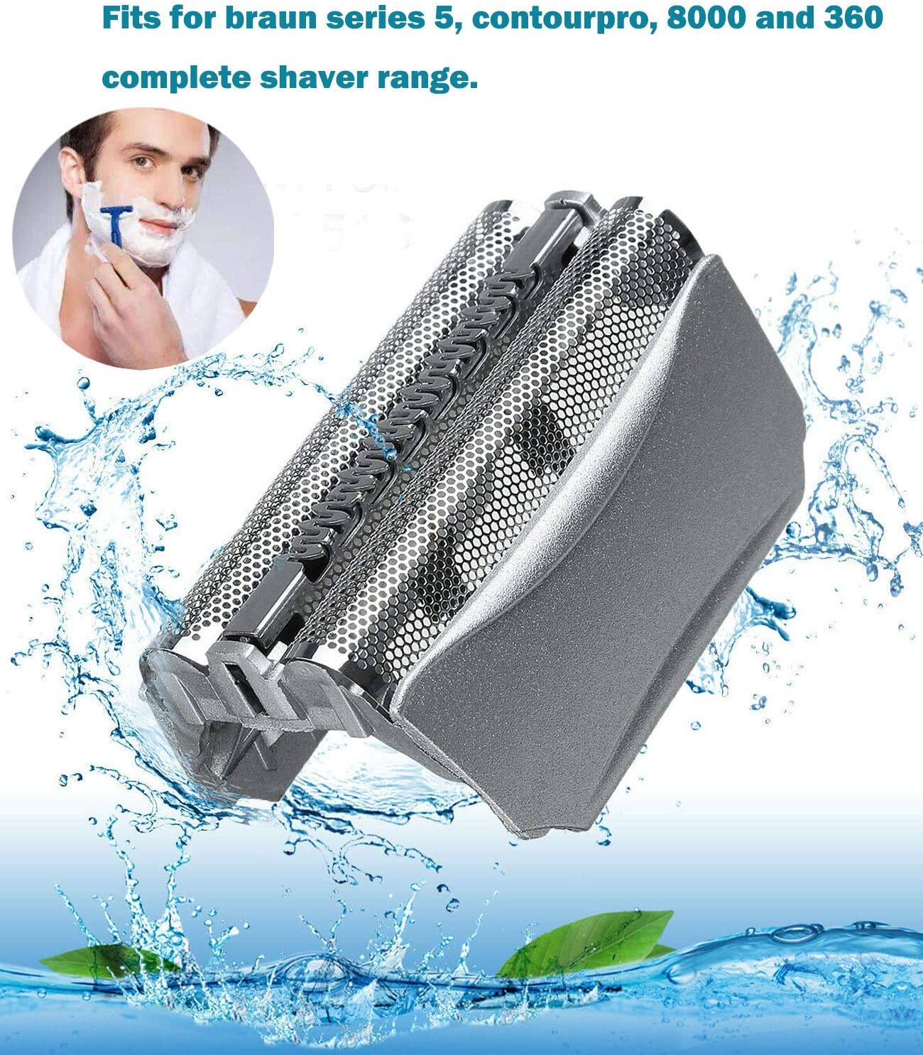 Poweka - Cuchilla de afeitar de repuesto para Braun 51S compatible ...