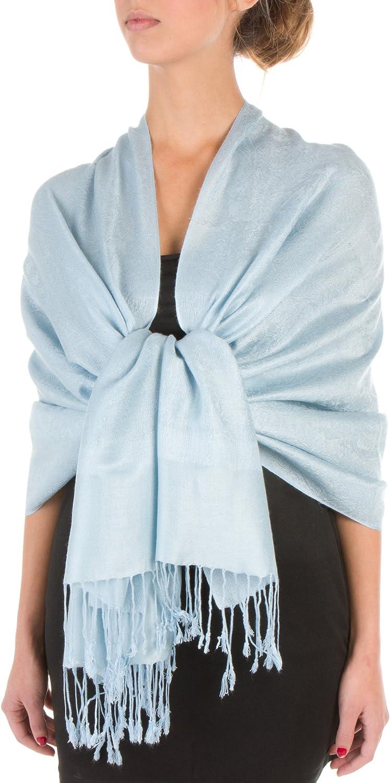 Sakkas Soft Pashmina Feel Paisley Design Schal//Stola