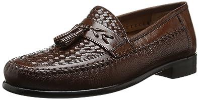 Men's Swivel Woven Moc Tassel Slip-On Loafer