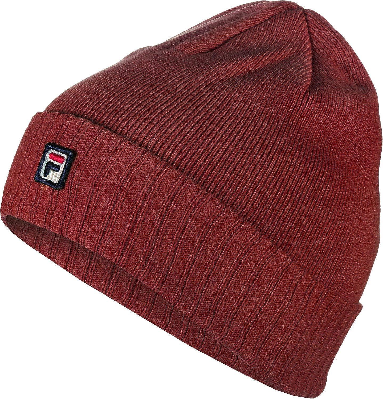 f2d3ce8cd32b6 Fila Men Beanies Urban Line red Standard Size  Amazon.co.uk  Clothing