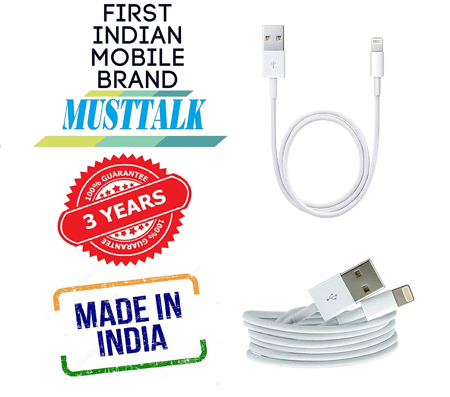Iphone charging cable amazon india