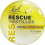 RESCUE PASTILLES, Homeopathic Stress Relief, Natural Lemon Flavor - 35 Pastilles, 1.7 Ounce