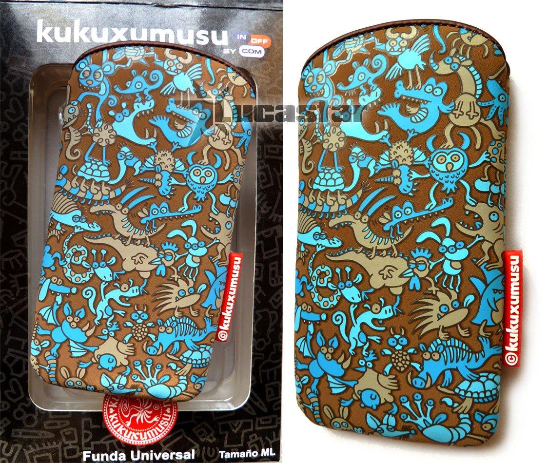 Funda Kukuxumusu Animalario Tamaño ML: Amazon.es: Electrónica