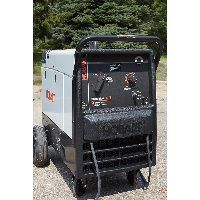 Hobart Champion Elite Welder Generator 23 Hp 11 000 Extension Cord To Dryer Plug On 50 Amp Wiring Diagram Watts Model 500562 Garden Outdoor