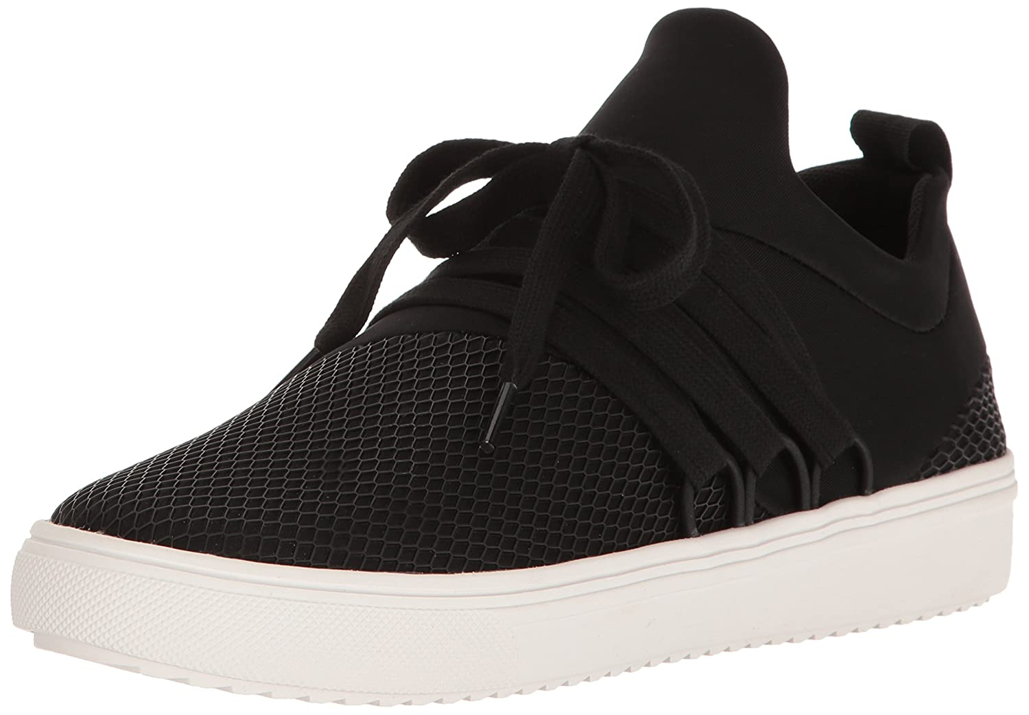 Steve Madden Women's Lancer Fashion Sneaker B01N9YA96Y 8 B(M) US|Black
