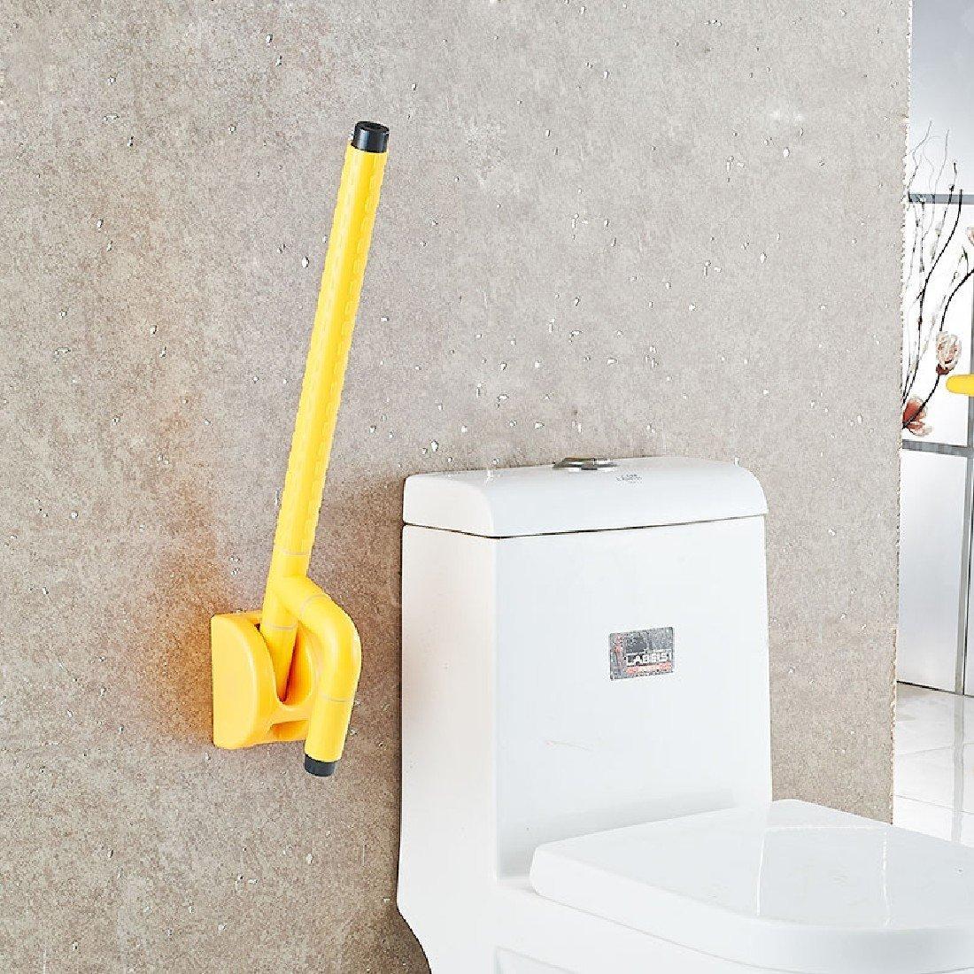 Reducción de precio SDKKY bagno antiscivolo bracciolo Baño sin barreras WC reposabrazos se Pueden Plegar en la Vuelta de los Ancianos discapacitados barandillas de Seguridad con Muelle de 70 cm.