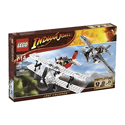 LEGO Indiana Jones Fighter Plane Attack (7198): Toys & Games