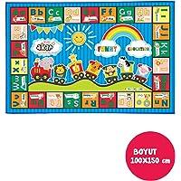 AKAR - Oyun Halısı, Alfabe, 150 x 100 cm